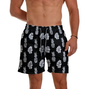 Short Praia Use Thuco Abacaxi BG Black