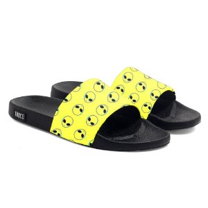 Chinelo Slide Use Thuco Coleção Abduction - Yellow