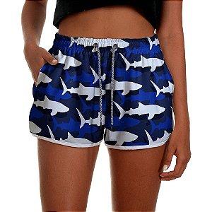 Short Praia Feminino UseThuco Shark