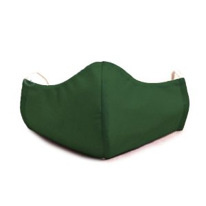 Mascara Proteção Em Tecido Lavável Unissex Verde