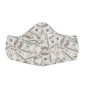 Mascara Proteção Em Tecido Lavável Unissex Dollar Use Thuco