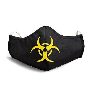 Mascara Unissex Em Tecido Lavável Danger Use Thuco