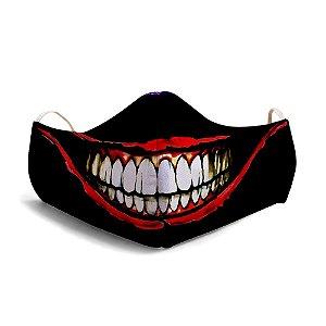 Mascara Proteção Em Tecido Lavável Unissex JokerSmile Use Thuco