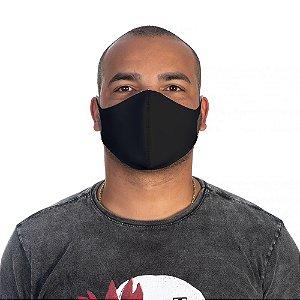 Mascara Proteção Masculina Em Tecido Lavável Neoprene Cor Preta Use Thuco