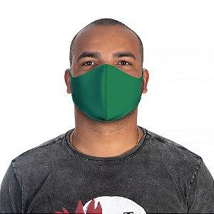 Mascara Proteção Masculina Em Tecido Lavável Neoprene Cor Verde Use Thuco