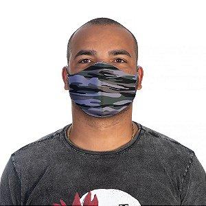 Mascara Proteção Masculina Em Tecido Lavável Neoprene Camuflada Use Thuco
