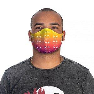 Mascara Proteção Masculina Em Tecido Lavável Neoprene Aliens Soler Energy Use Thuco