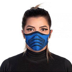 Mascara Proteção Feminina Em Tecido Lavável Neoprene subZero Use Thuco