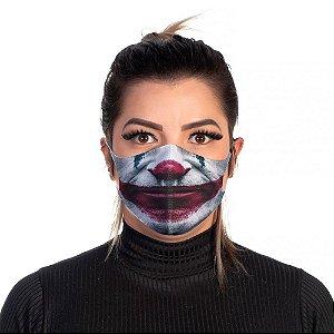 Mascara Proteção Feminina Em Tecido Lavável Neoprene Boca Joker Use Thuco