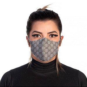 Mascara Proteção Feminina Em Tecido Lavável Neoprene G&G Use Thuco
