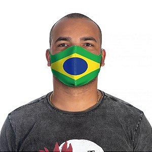 Mascara Proteção Masculino Em Tecido Lavável Neoprene Brasil Use Thuco