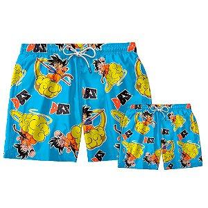 Kit Shorts Pai e Filho DBZ Use Thuco