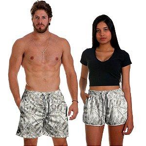 Kit Shorts Casal Masculino e Feminino Dolar Use Thuco