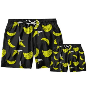 Kit Shorts Pai e Filho Mananas Use Thuco.