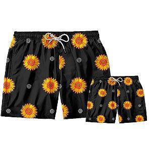Kit Shorts Pai e Filho Gira Sol Use Thuco.