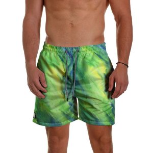Short Masculino - TIE DYE Lake Green