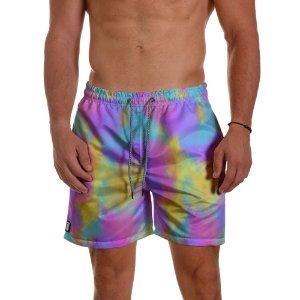 Short Masculino - TIE DYE Mixed Purple