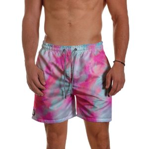 Short Masculino - TIE DYE Red Merge