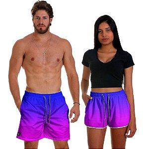 Kit Shorts Casal Masculino e Feminino Night Club Coleção Festas