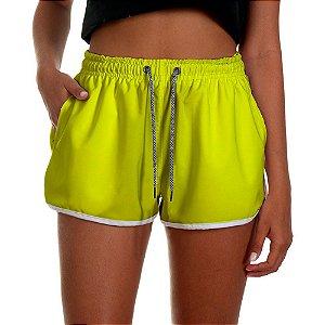 Shorts Feminino UseThuco Yellow
