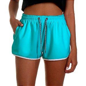 Shorts Feminino UseThuco Azul Piscina