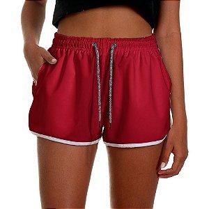 Shorts Feminino UseThuco Vinho