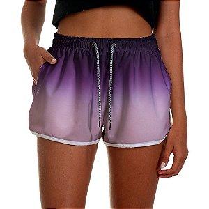 Shorts Feminino UseThuco Mescla Roxo