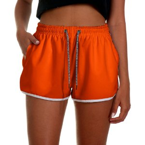 Shorts Feminino UseThuco Laranja