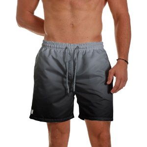 Short de Praia Masculino Preto Degrade Use Thuco