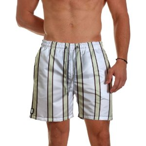 Short de Praia Masculino White Use Thuco
