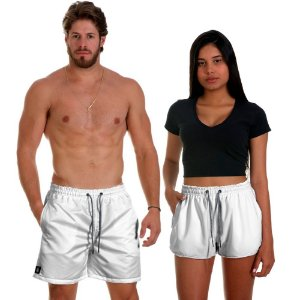 Kit Short Casal Use Thuco Branco Réveillon