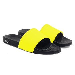 Chinelo Slide Use Thuco Amarelo Neon
