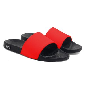 Chinelo Slide Use Thuco Vermelho Neon