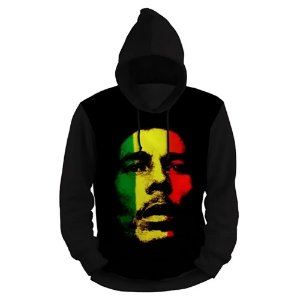 Moletom Bob Marley Full Print 3d Use Thuco