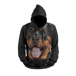 Moletom Rottewwiller Cachorro Full Print 3d Use Thuco
