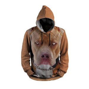 Moletom Pitbull Cachorro Full Print 3d Use Thuco