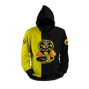 Moletom Cobra Kai Full Print 3d Use Thuco