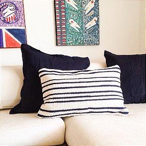 Almofada 40x60 tapeçaria listrada