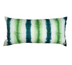 Almofada Tie Dye Verde (impermeável) 28 x 60cm