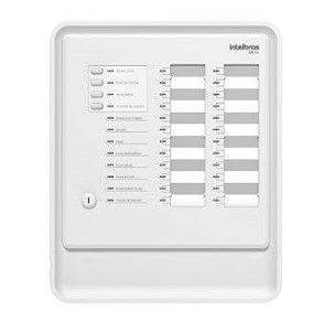 Central de alarme de incêndio convencional CIC 24 laços Intelbras