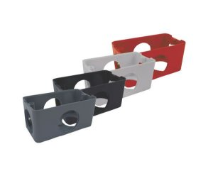 CONDULETE PVC 5 ENTRADAS PARA 1/2 E 3/4