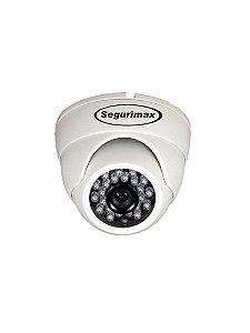 Câmera Dome Multifunção 4 EM 1 HD/24 Leds, 1.0MP, 3.6mm Segurimax