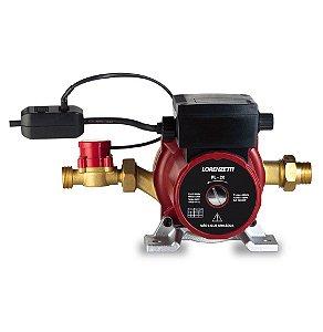 Pressurizador para aquecedor de água a gás Lorenzetti PL 20 - 20 mca - 350W -  220V