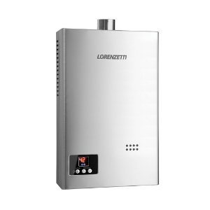 Aquecedor de água a gás LZ 1600 DI - Digital - Exaustão Forçada - Gás Natural - Vazão 15L