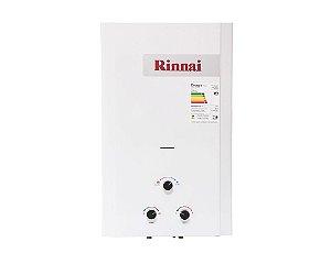 Aquecedor de água a gás Rinnai REU M200 CFHB - Gás Natural - Vazão 20L