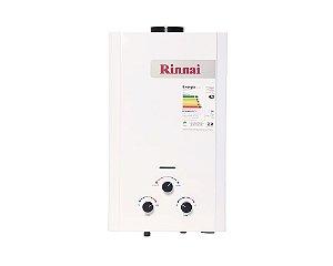 Aquecedor de água a gás Rinnai REU M110 CFHBL - Gás Natural - 11L