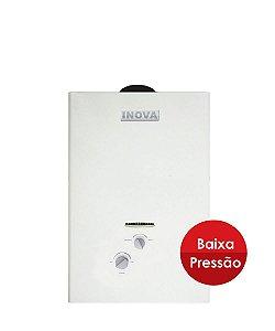 Aquecedor de água a gás Inova IN 800 BP - Gás Liquefeito de Petróleo (GLP) - Vazão 7,5L