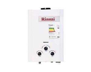 Aquecedor de água a gás Rinnai REU M071 GLP (Gás Liquefeito de Petróleo) - Vazão 7,5L