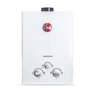 Aquecedor de água a gás Rheem - Gás Natural - Vazão 7L