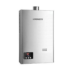 AQUECEDOR LORENZETTI LZ 1600 D-I INOX 15 LT GN